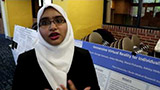 Pace student Saima student-faculty research