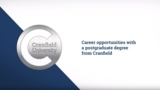 Cranfield University postgraduate student careers