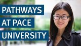Student testimonial pathways at Pace University - Kaplan China
