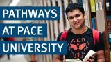 Student testimonial pathways at Pace University