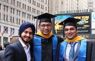 Vaibhav's educational journey: finally graduating to Pace University