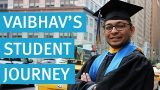 Vaibhav student journey - pace university pathways