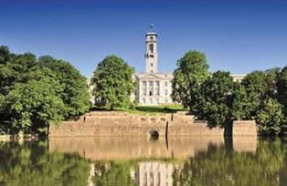 University of Nottingham campus - Trent Building - Pre-Doctorate