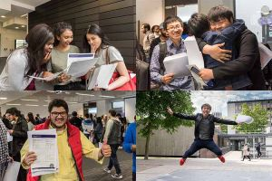 University of Liverpool International College students results day