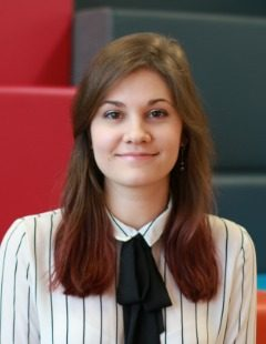 Irina Scitilina, US Admissions Officer