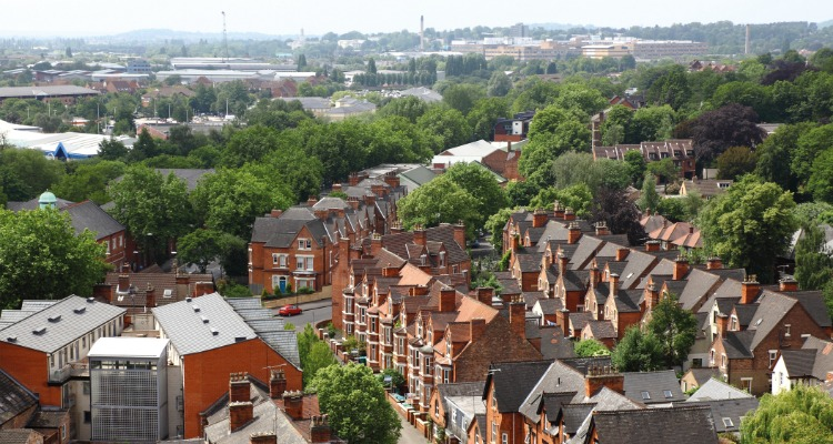 The view from Green's Mill and Science Centre - budget nottingham