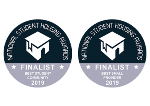 National Student Housing Awards 2019 finalists logo