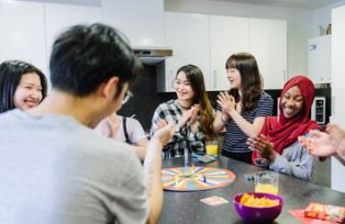 students in accommodation - international student support