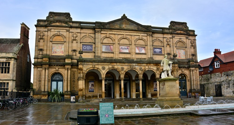 The York Art Gallery pictured from outside
