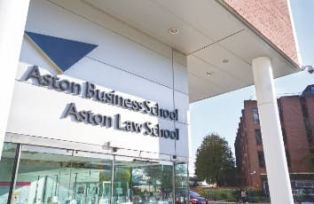Aston Business School exterior