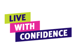 Live with confidence title