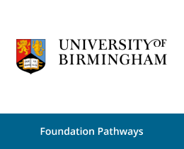 University of Birmingham foundation pathways